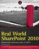 Real World SharePoint 2010 Book - cover image